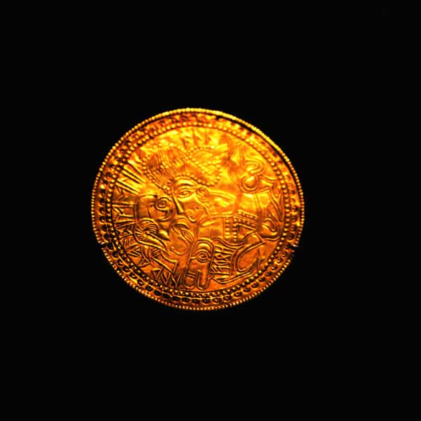 Guldbrakteat år 500